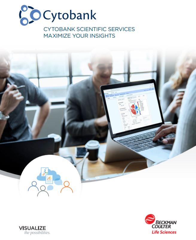 Cytobank Premium Scientific Services Brochure Cover