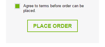 Checkout Place Order Button