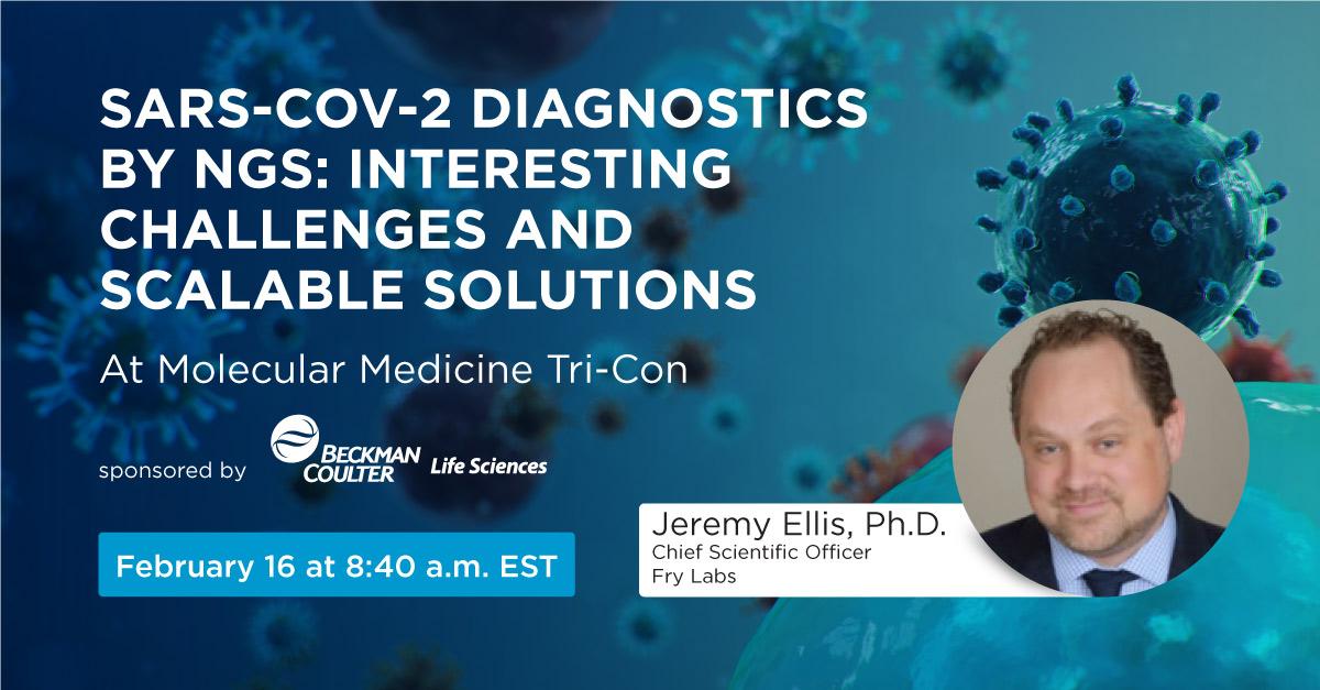 Molecular Medicine Tri-Con 2021 with Beckman Coulter Life Sciences