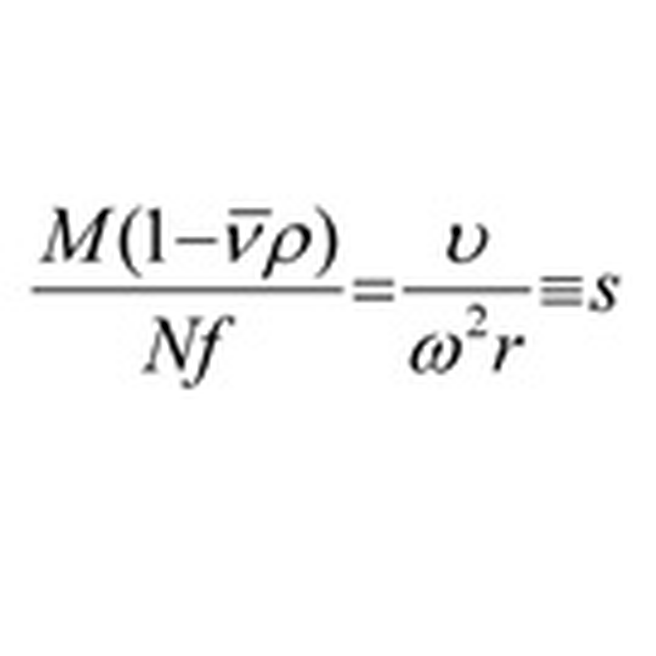 Sedimentation coefficient determination