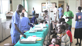CARES Initiative Clinic in Africa