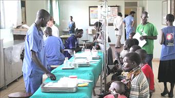 CARES Initiative Clinic in Africa