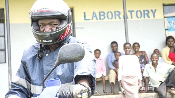 CARES Initiative Hub sample collection in Uganda