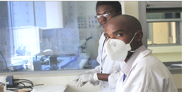 CARES Solutions Men in lab