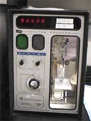 Coulter Counter Model F