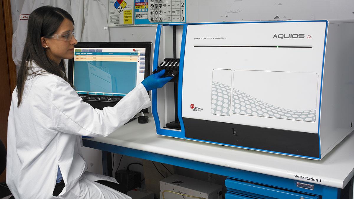 London Health Sciences Centre (LHSC) Workflow Comparison Study With The AQUIOS CL Flow Cytometer