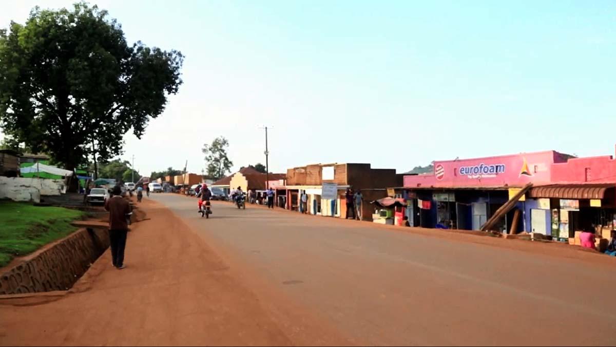 Uganda town