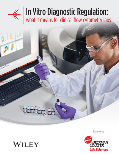 E-book cover In Vitro Diagnostic Regulation: what it means for clinical flow cytometry labs