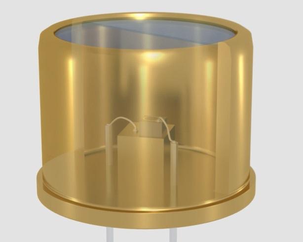 Detector de fotodiodos de avalancha para citometría de flujo
