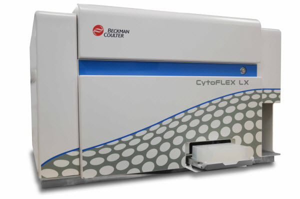 CytoFLEX LX Flow Cytometer with Plateloader and 96-well Deepwell Plate