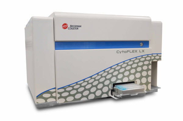 CytoFLEX LX Flow Cytometer with Plateloader and 96-well Plate