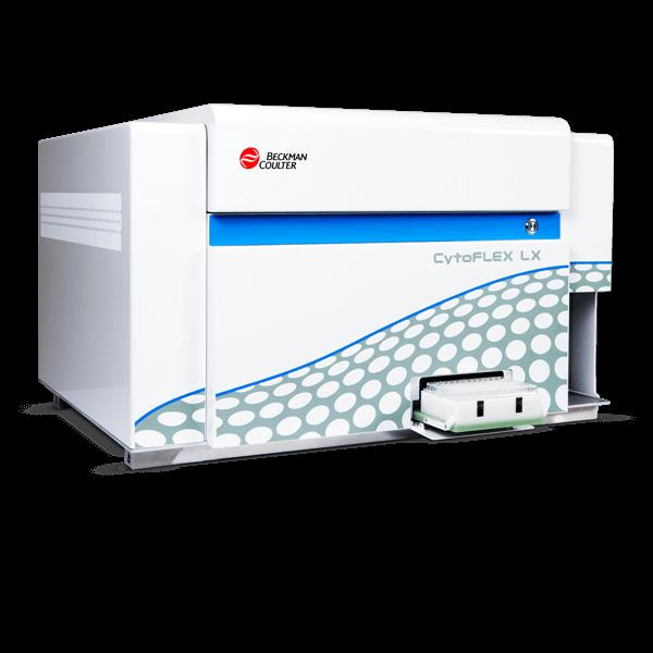 CytoFLEX LX Flow Cytometer with plate loader