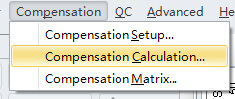 CytoFLEX Compensation Calculation
