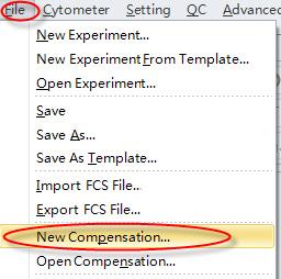 CytoFLEX new compensation
