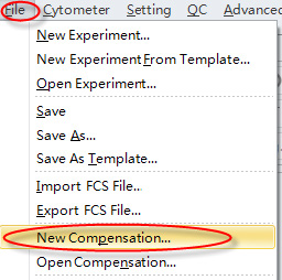 CytoFLEX new compensation