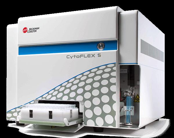 C02947, CytoFLEX S V2-B2-Y2-R0 Flow Cytometer (6 Detectors, 3 Lasers)