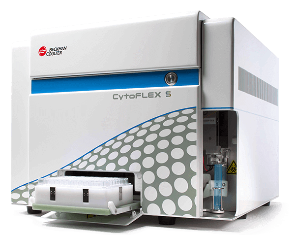 C02949, CytoFLEX S N0-V0-B2-Y2 Flow Cytometer (4 Detectors, 2 Lasers)