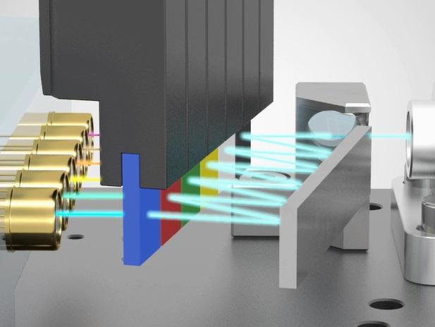 CytoFLEX Platform Wavelength Division Multiplexer WDM for flow cytometry