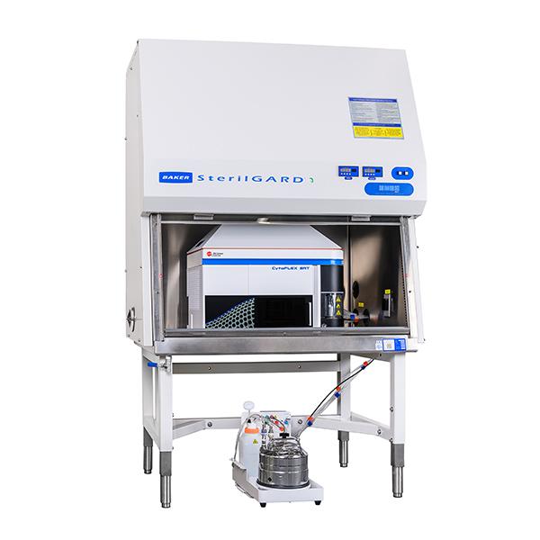 SterilGARD biosafety cabinet for CytoFLEX SRT benchtop cell sorter