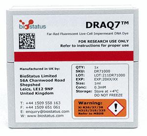 DNA binding dye, DRAQ7