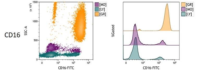 CD16 Measured Antigen Density in Whole Blood