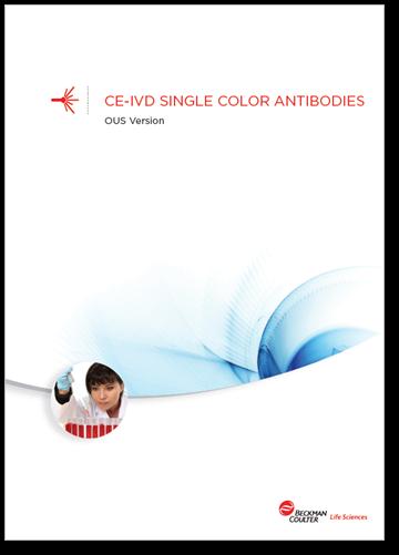 Flow reagents single-color antibodies CE-IVD booklet