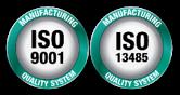 Логотип ISO 13485:2016