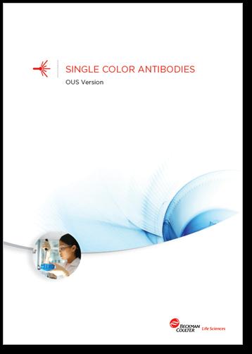 Flow reagents single-color antibodies OUS booklet