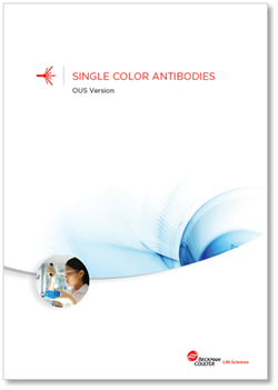 Flow reagents single-color antibodies OUS booklet
