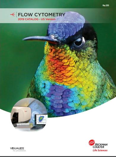 Catálogo 2019 de EE.UU. de anticuerpos de color único de reactivos de flujo