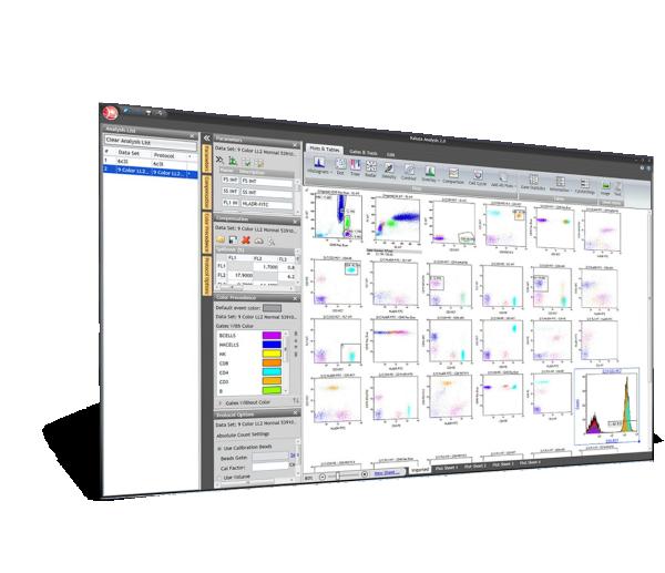 Kaluza Analysis Software interface