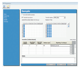 Figure 4. Tip usage is automatically tracked and calculated per number of samples processed.