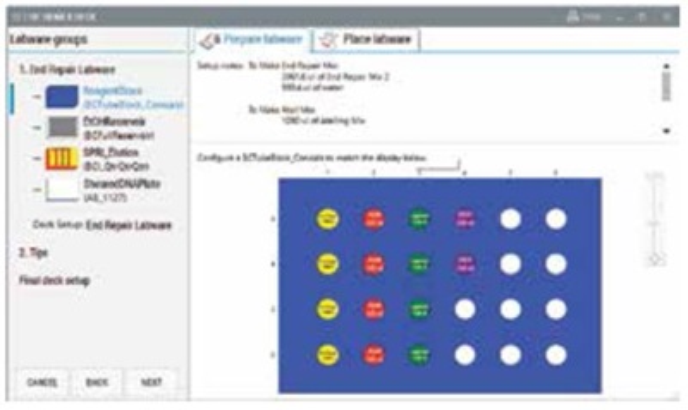 Genomics Workstation Guided Labware Setup Figure 5