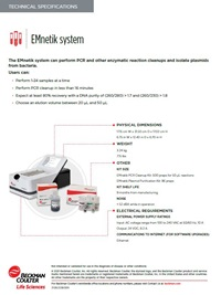 EMnetik System Flyer and Technical Specs