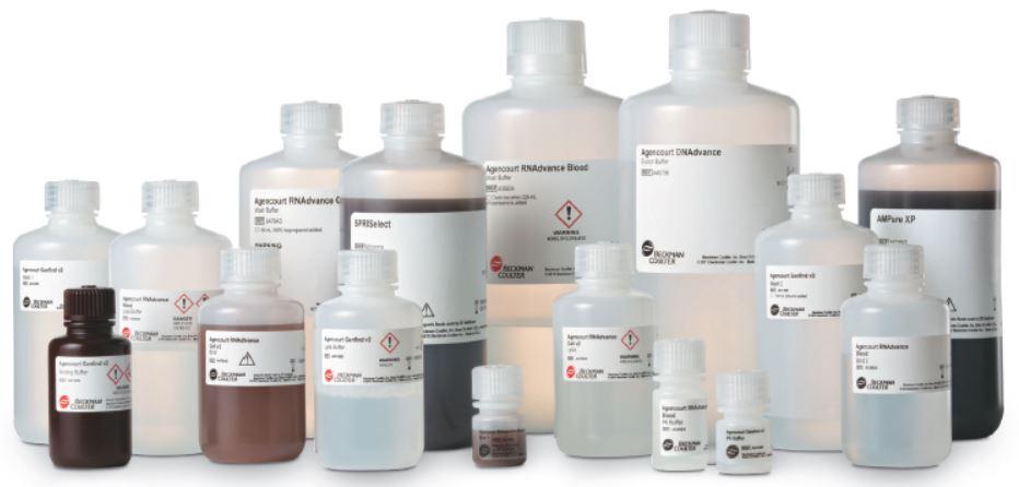 Póster genómico Variedad de kits de extracción