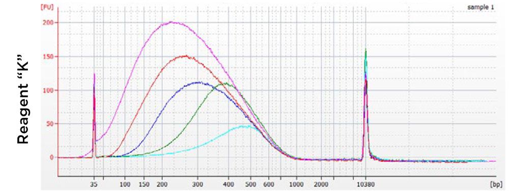 AMPure XP Performance Comparison Chart - Competitor 1