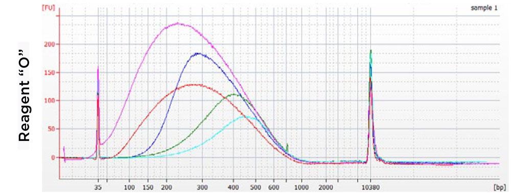 AMPure XP Performance Comparison Chart - Competitor 2