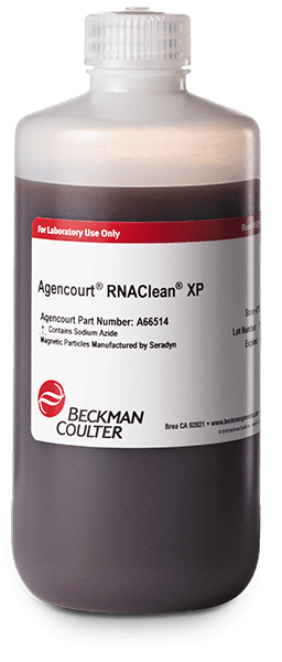 RNAC cDNA Clean Up Agencourt XP