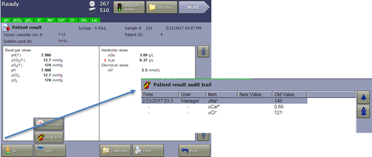 vi-cell metaflex software audit Trail for each result file 21 cfr part 11 compliance