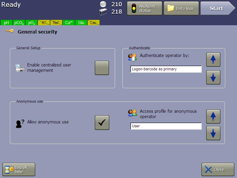 vi-cell metaflex software user authentication security profiles 21 cfr part 11 compliance