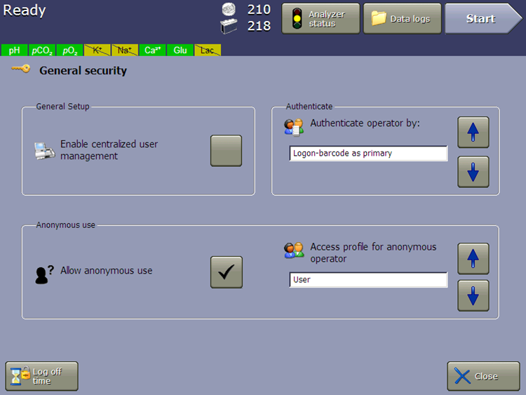 vi-cell metaflex software user authentication security profiles 21 cfr part 11 compliance
