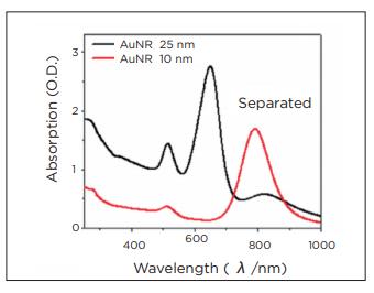 graph 3 - metal nanorod