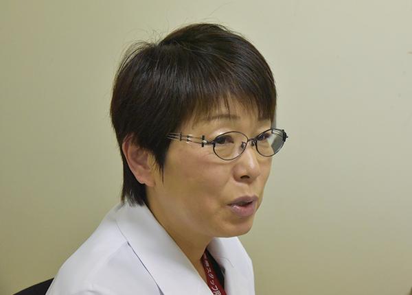 検査部 検査技師長 芳賀 由美 氏