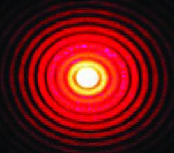 Patrón de dispersión de una partícula esférica