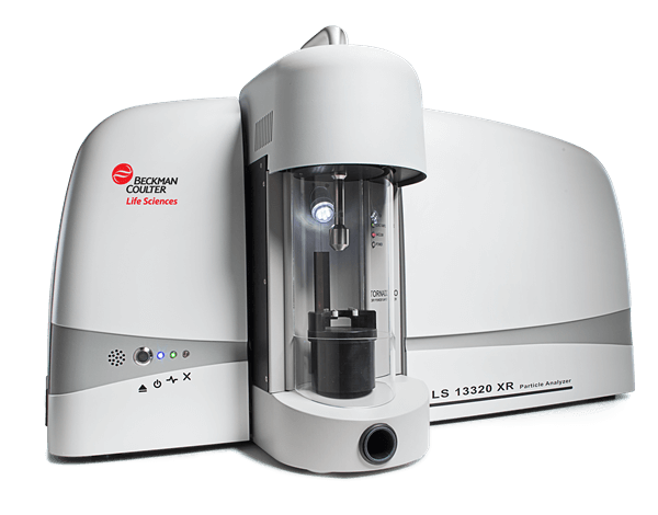 LS 13 320 XR Laser Diffraction Particle Size Analyzer  Full View