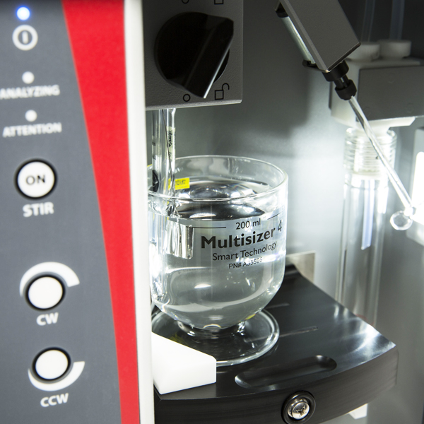 coulter principle multisizer 4e 200 ml beaker
