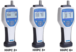MET ONE HHPC+ Series Handheld Air Particle Counters 2 3 6 Channel