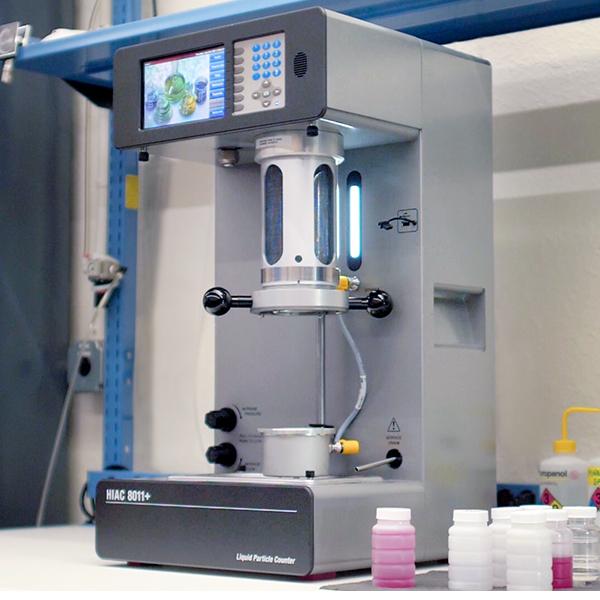 Particle Lab Liquid Counter HIAC 8011 Lab