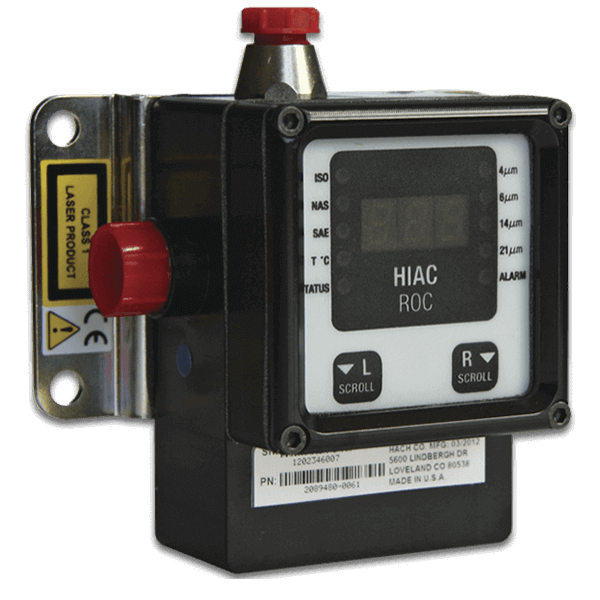 HIAC ROC portable liquid particle counters