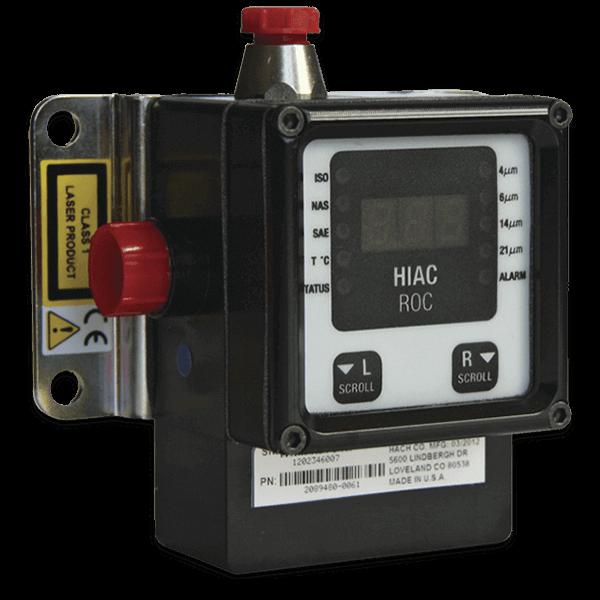 HIAC ROC Remote Online Liquid Particle Counter, 油中パーティクルカウンター, 微粒子測定